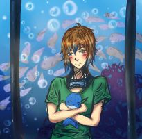 MnG: YUKI GOES TO THE AQUARIUM- by otakujeanette