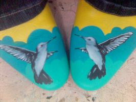 Hummingbird Heels by seriouslytwisted