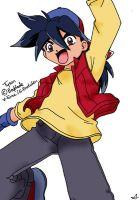 Tyson from beyblade by PandaManda