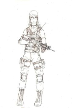 TF 141 operative pencils by ThomChen114