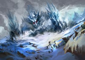Frozen Mountain by windboi