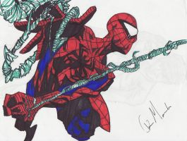 The Amazing Spider-Man Comic book Style #2 by Christopher--Morales