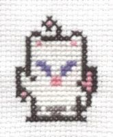 FF VI Moogle cross stitch 2 by Lil-Samuu