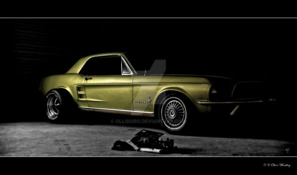 '67 Mustang Coupe by Ollidoro