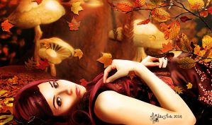 Autumn beauty by Lolita-Artz