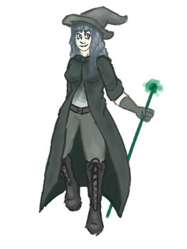 Sea Witch (Needs a Name) by SilverSparroww