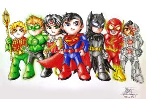 Justice League of America by tenkai-yayes