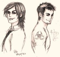 Aiden... and the vampire by evafortuna
