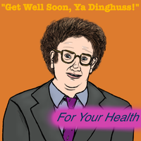 FOR YOUR HEALTH Christmas Requests: Steve Brule by MacabreAustereRelume