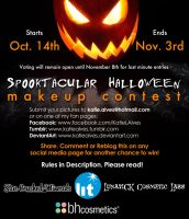 Spooktacular Makeup Contest by KatieAlves