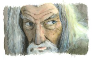 Gandalf le Gris by RJBaudouin
