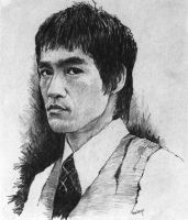 Bruce Lee by JMaberry
