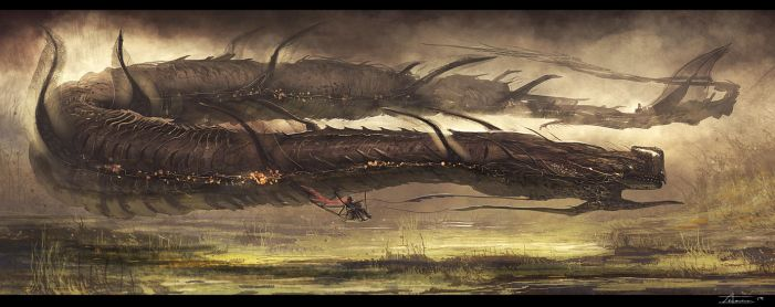 Floating Worm rider (4-15-13) by zakforeman
