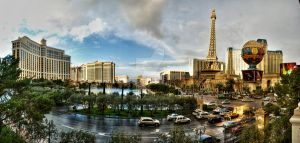 Bellagio Caesars Palace Paris by cheechwizard