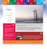 Dubai link tours website by maraccasmein