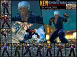 SSF4AE KEN like the K' leather costume by dsFOREST