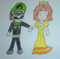 Come with me Mr L and Daisy by pinkprincess1