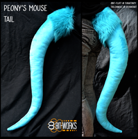 Peony's tail -commission- by TrelDaWolf