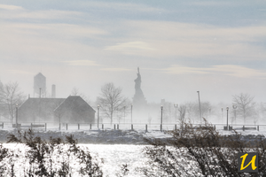 Statue of Liberty - Snow by duniyadnd