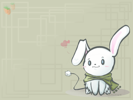 Bunni Wallpaper by DarkVixenOfLight