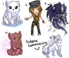 Subeta Commissions by Sarucho