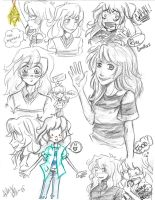 Ryou Doodles by PianoxLullaby