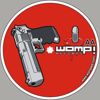 womp records logo side by DanielJohnston
