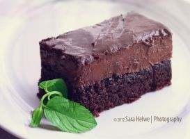 Chocolate mousse cake by sara-hel