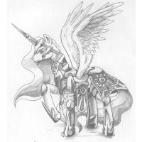 Commander Celestia by george5408