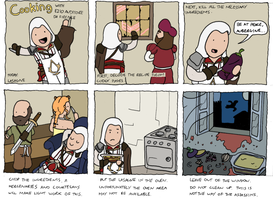 Cooking With Ezio Auditore by DevilPudding