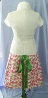 Wrap Skirt: Cherry Explosion B by x-My-Muse-x