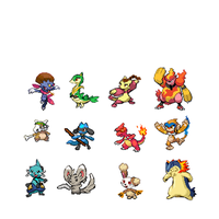 Avatar the last airbender as pokemon by Artdirector123