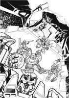 Tf Cybertronians Page 1 Ink by kishiaku