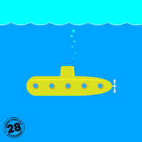 Design Every Day in December - Day 28 - Submarine by deebeeArt