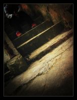 The Girl with the Red Shoes by LaEscaleraDeJacob