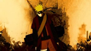 Naruto HD wallpaper by Mrbarclonista