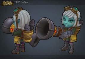League of Legends: Tristana 3 by MissMaddyTaylor