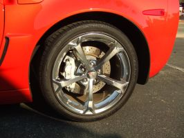 Nice Vette - rear wheel by PaulRokicki