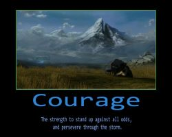 Courage by GFgym13