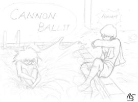 Cannon ball by Animaker131