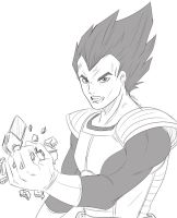 Vegeta by Gearfreed