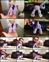 Twilight Sparkle Amigurumi WITH REMOVABLE WINGS! by Ignition4596