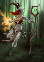 Forest Witch by Silartworks