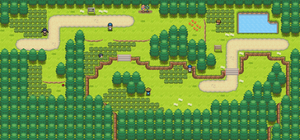 Route 102 remake by Pokemon-Diamond
