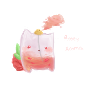 Squoof Adopt: Rosey Aroma [closed] by KeebyZ