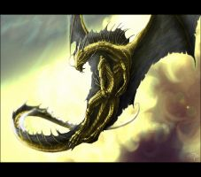 Great Wyrm by spiritamael