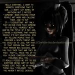 FNAF 4 Little rant time with Nightmare Kitten by White-Hu