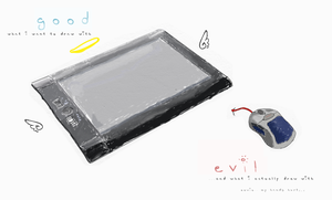 GvE... Tablet vs Mouse by burnttea