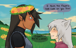 Flowers for Trin by chibitrinity