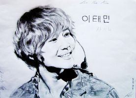 Lee Taemin Angelic Smile by Koeno77Shiro